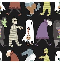 Halloween pattern 04 vector