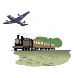 Travel by transport vector