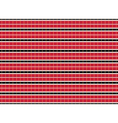 Double decker bus seats red pattern seamless vector