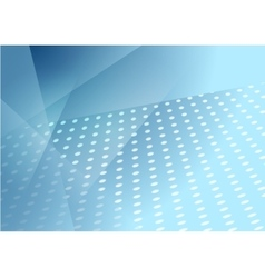 Abstract blue tech dotted background vector image
