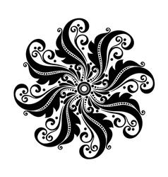 Beautiful deco circle vector
