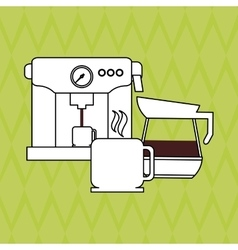 Coffee Shop icon design vector image vector image