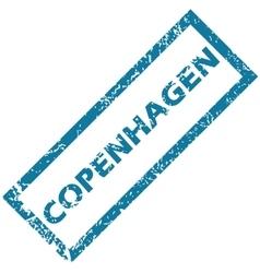 Copenhagen rubber stamp vector