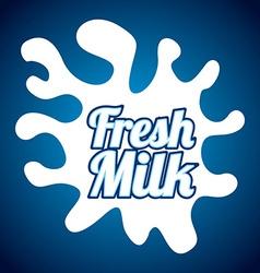 milk design vector image