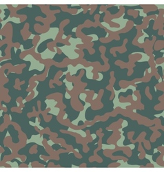 Camouflage seamless pattern woodland style vector