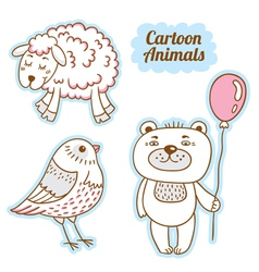 Cartoon animals 6541513 12 vector