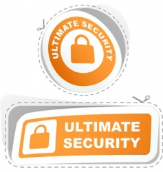 ultimate security vector image
