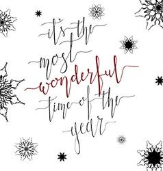 Wonderful time vector