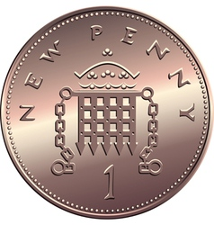 british money vector image