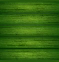 Dark green wooden planks texture vector