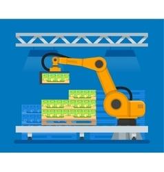 Industrial robots for vector