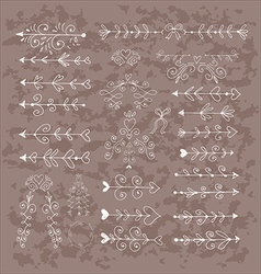 Set of elements30 vector image
