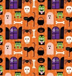 Halloween monsters vector