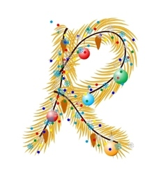 R - letter vector