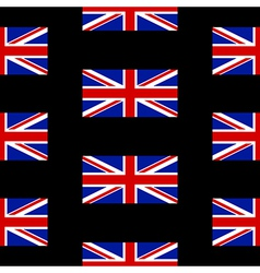 Flag of the united kingdom seamless pattern vector