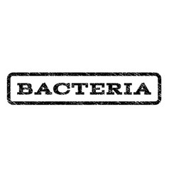 Bacteria watermark stamp vector