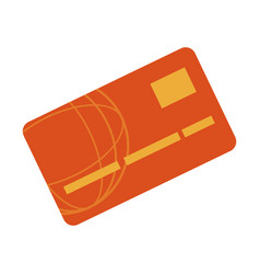 bank card credit or debit finance icon vector image