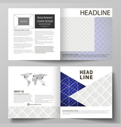 Leaflet cover abstract layout shiny vector