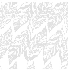 White seamless pattern vector
