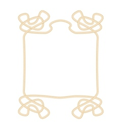 Rope frame vector