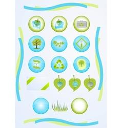 Green tech vector