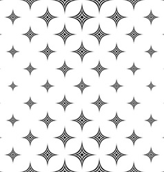 Monochromatic seamless star pattern vector