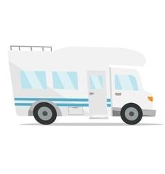 Modern camper van vector