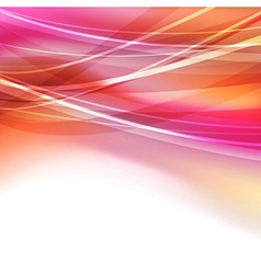 Abstract bright transparent lines background vector image