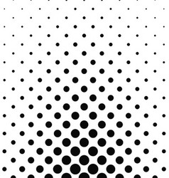 Abstract monochrome dot pattern vector