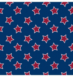 American flag background vector image vector image