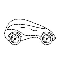 modern car futuristic icon vector image