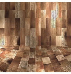 Wood panels used as background EPS 10 vector image vector image