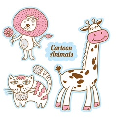 Cartoon animals 6541513 14 vector