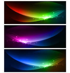 Web banner collection vector