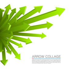 Arrow explosion vector