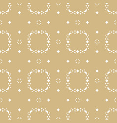 ornamental seamless pattern subtle gold texture vector image vector image