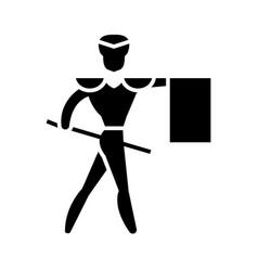 Toreador - matador icon vector