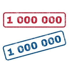 1 000 000 Rubber Stamps vector image