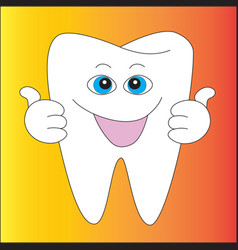 a root with a smile vector image