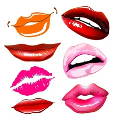 Lips sex pink icon women vector