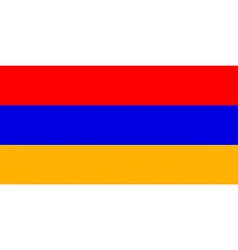 Armenian flag vector