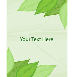 Green template vector