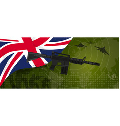 Uk united kingdom england britain military power vector