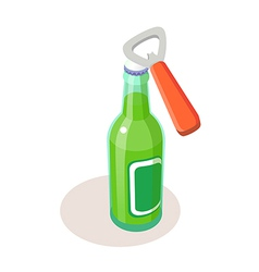 Icon bottle vector