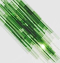 Green straight lines abstract background vector image vector image