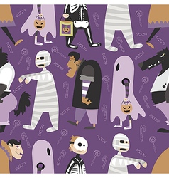 Halloween pattern 05 vector