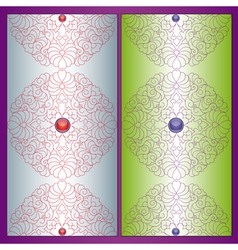 Vintage violet background vector image