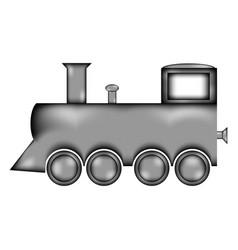 Locomotive sign icon vector