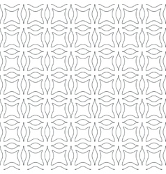 Abstract wavy seamless pattern vector image vector image