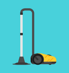 flat vacuum cleaner vector image